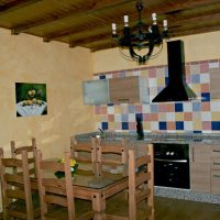Casa-rural-Villa-Rocio-Cocina-americana-2