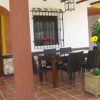 Casa rural Villa Rocio Porche detalle 2